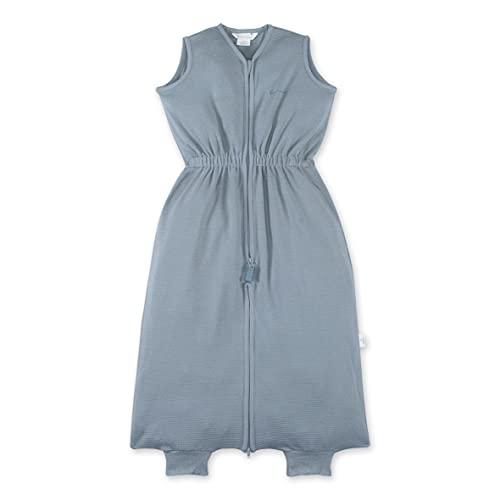 BEMINI Saco de dormir de 9-24 meses, diseño de gofre, color azul
