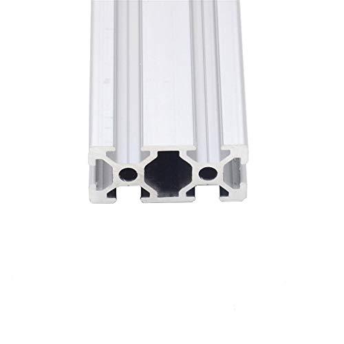 2040 Aluminiumprofil Europeisk Standard Anodiserad Linjära Skena, Aluminiumprofil 2040 Extrudering 2040 CNC 3D Skrivardelar (Size : 350 mm)