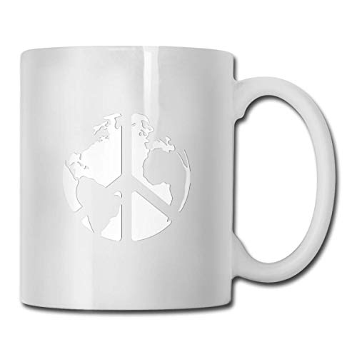 Tazza World Peace Sign Global Harmony Coffee Mug Tazza da tè in ceramica Tazze da bere