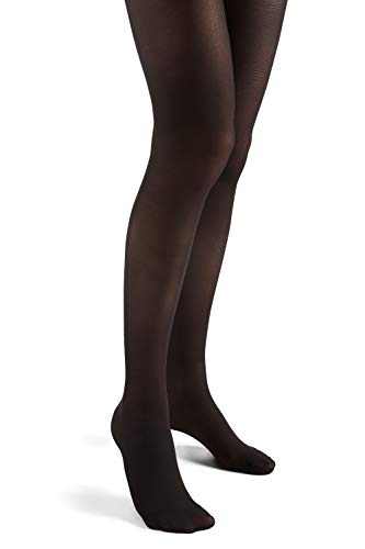 Futuro Energizing Ultra Sheer Pantyhose for Women, Helps Relieve Symptoms of Mild Spider Veins, Mild Compression, French Cut, Plus, Black