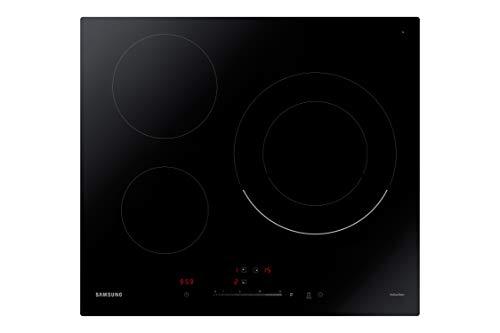 Samsung NZ63R3727BK/UR Plaque à induction 3 feux Noir Détecteur automatique de poêle Indicateur de chaleur résiduelle Fonction d'augmentation de puissance Contrôle de température intuitif