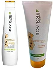 MATRIX By fbb Biolage Smooth-proof Smoothing Shampoo, 400 ml with Conditioner, 196 g