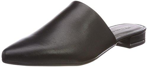 Tamaris Damen 27304 Pantoletten, Schwarz (Black Leather), 37 EU