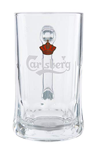6er Carlsberg Bierkrüge Bierseidel Salzburg 6X 0,5l Exclusive Gastro Edition