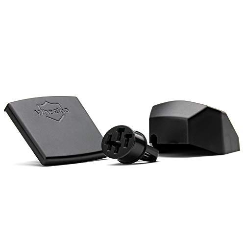 Wheeloo Kontaktschutz-Set für Bosch Intuvia + Nyon | E-Bike Pin Abdeckung komplettes Zubehör Set zum Schutz der Kontakte an Akku, Display und Bedieneinheit