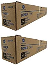 A8DA130 Genuine Konica Minolta Toner Cartridge 2 Pack, TN324K, 28000 Page-Yield Per Ctg, Black