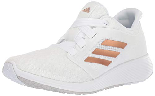 adidas Women's Edge Lux 3 Running Shoe Copper Metallic/Crystal White, 6.5 M US