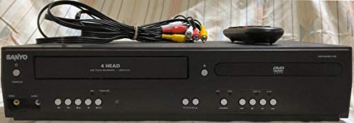 Sanyo FWDV225F DVD/VCR Player With Line-In Recording