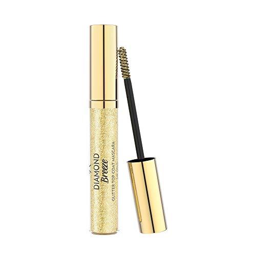 Golden Rose Diamond Breeze Glitter Top Coat Mascara - 24k Gold
