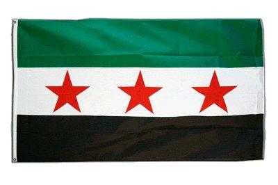 Flagge Syrien 1932-1963 / Opposition - Freie Syrische Armee - 90 x 150 cm