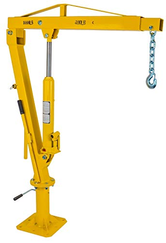 JEGS Performance Products 81047 Swivel Lift Crane Mounts to Pick-Up Truck Bed w/