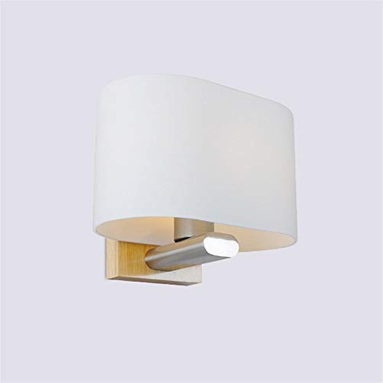 Wall Light Home Moderne minimalistische Beleuchtung Wandleuchte e27 Lampe led Schlafzimmer nachttischlampe Flur Wohnzimmer Balkon Holz Wandleuchte