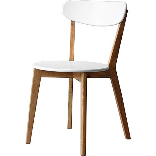 Silla de comedor, silla de café de ocio de una sola espalda
