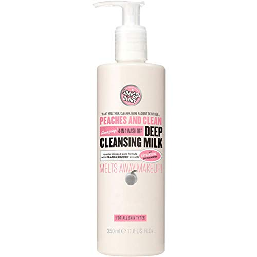 Soap And Glory Peaches And Clean 4-in-1 Wash-Off Deep Cleansing Milk 350ml