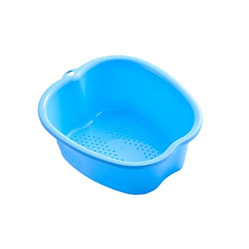 Fußwanne Badewanne Becken, Große Kunststoff Fußpflege Wanne Soaker Waschbecken für Pediküre, Entspannung, Förderung der Durchblutung und Entgiftung, Fußwanne gegen Nagelhaut und abgestorbene Haut