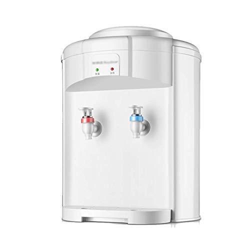 LXDDP Dispensador Enfriador Agua fría y Caliente Independiente - Diseño silencioso, Mini dispensador Agua para encimera Soporte para Beber para Oficina, Escuela