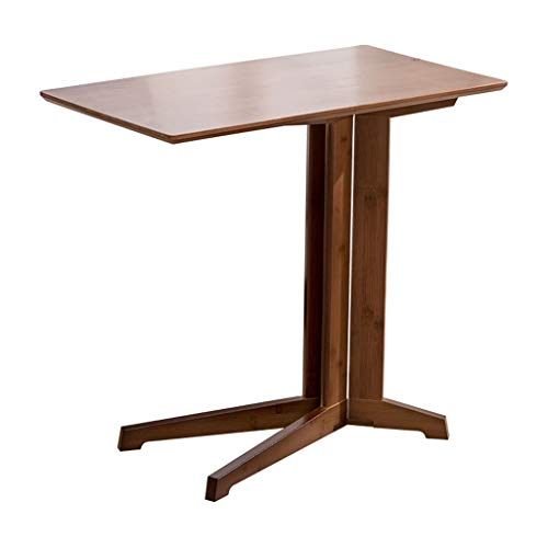 MYBA Coffee Table Sofa Side A Few Small Coffee Table Table Bamboo Simple Bedside Table End Table Computer Table Removable Tea Table Side Table (Size : 60CM)