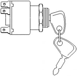 All States Ag Parts Ignition Key Switch Ford 555C 545C 345D 675D 555D 455C 655C 445D 250C 345C 455D 545D 445C 260C 655D 575D E7NN11N572AA New Holland FX25 FX58 FX60 TX68 TX66 FX50 E8NN11N572AB