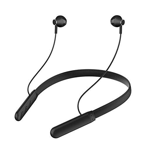 Wireless Earphones Headphones for Amazon Fire HDX 8.9 (2014) Sports Bluetooth Wireless Earphone with Deep Bass and Neckband Hands-Free Calling inbuilt Mic Headphones with Long Battery Life and Flexible Headset (Black)