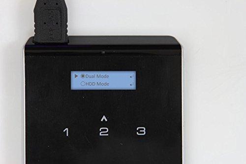 IODD-2541 USB 3.0 External Verschlüsselte Festplattengehäuse [Virtuelle DVD Blu-ray ROM / VHD / Booting / SSD / HDD / 2.5] (1 Bündel)