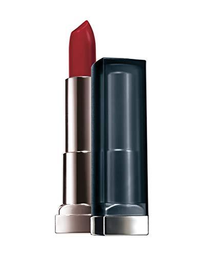 Maybelline New York Make-Up Lippenstift Color Sensational Creamy Mattes Lipstick Siren in Scarlet /...