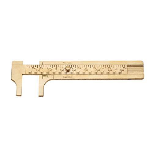 Calibradores de medición Herramienta de medición Calibradores Herramienta de medición Calibre Vernier, Calibrador digital, Calibrador Herramienta de(Double scale 80mm)