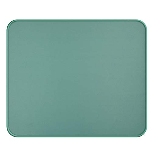 Mouse Pad, Upgraded Mouse Pad with Durable Stitched Edge,12.6'x10.6'x0.12' 40% Larger Big Gaming Mouse pad, Blue Non-Slip Rubber Base Waterproof Mouse Pad for Laptop,Computer, Office, Home, Water Blue