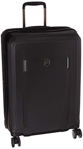 Victorinox Werks Traveler 6.0 Hardside Spinner Luggage, Black, Checked-Medium (24')