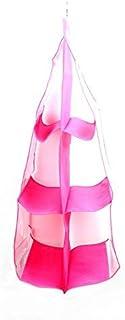 6 Pocket Folding Hanging Handbag Storage Organizer Hanging Sundry Shoe Storage bag for Closet Home Supplies Wardrobe Hanging bag