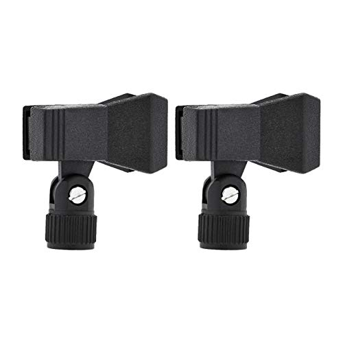 AmazonBasics Microphone Clip - Clothespin Style - 2-Pack