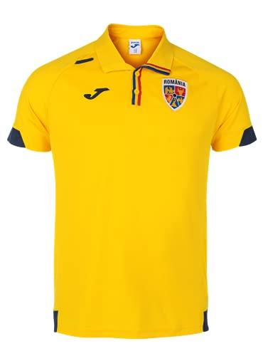 Joma Polo da Rappresentanza Gialla della Squadra Nazionale di Calcio Rumena (XL, x_l)