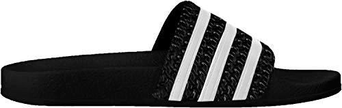 adidas Unisex-Erwachsene Originals ADILETTE Bade Sandalen, Schwarz (Black/White/Black), 42 EU