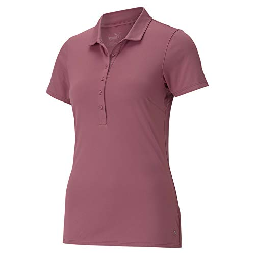 PUMA Damska koszulka polo W Rotation różowy Rose Wine XL