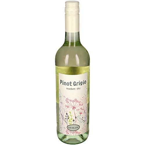Pinot Grigio Weißwein trocken - Weißwein aus Ungarn 0.75 L