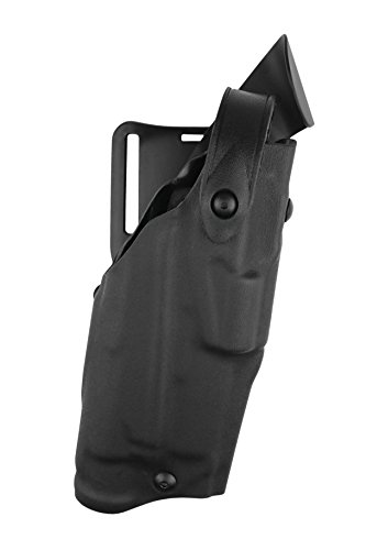 Safariland, 6360, SLS/ALS, Level 3 Retention Duty Holster, Fits: Glock 17, 22, 31 With Light, Mid-Ride, STX Tactical Black, Left Hand
