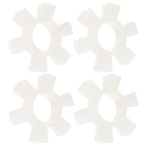 VILLCASE 4-Teilige Offene Backenkupplung Elastomer Flexible Backenkupplung