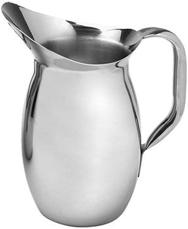 American Metalcraft WP68 68 Oz Stainless Steel Bell Pitcher