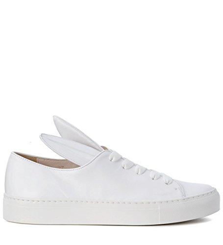 MINNA PARIKKA Damen Sneaker, alle Ohren, Weiß, Leder, 37I.-7(US)