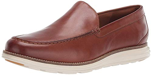 Cole Haan Men's Original Grand Venetian Slip-On Loafer, british tan/ivory, 10.5 M US