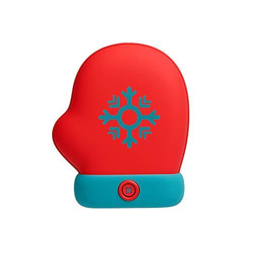 Xibreria CSKSC-R2 - Scaldamani ricaricabili da 5000 mAh Power Bank, portatile, con tasca tesoro, per terapia termica, ideale per sindrome di Raynaud e affettanti di artrite, migliori regali invernali.