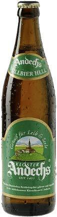Andechser Vollbier Hell 12 Flaschen x0,5l
