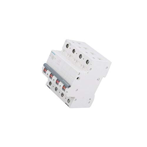 5SL6610-6 Circuit breaker 400VAC Inom: 10A Poles: 3+N DIN Charact: B 6kA SIEMENS
