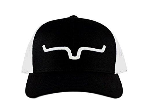 Kimes Ranch Apparel Mens Kimes Ranch Mesh Weekly Trucker Cap OS Black/White