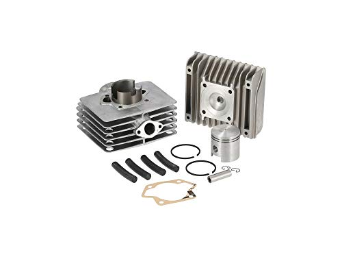 ALMOT Set: Zylinder + Kolben + Kopf, 80ccm, starke Laufbuchse - Simson S70, S83, SR80