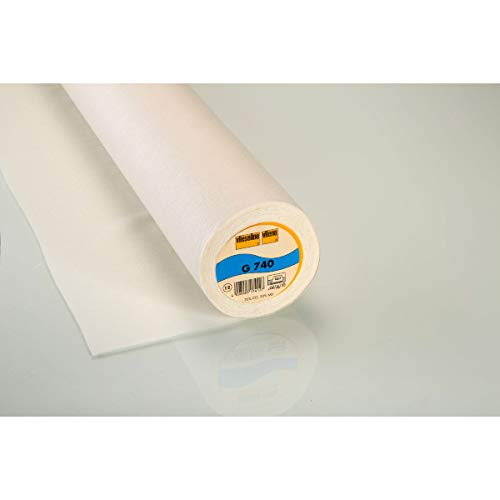 1 Rolle 100m Vlieseline T12 Formband  12mm breit weiß