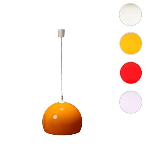 Reality Trio Deckenleuchte Pendelleuchte Lampe Lounge Deal 40cm Schirm ~ orange