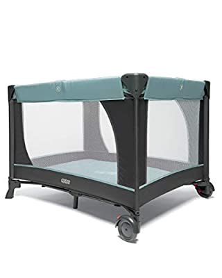 Mamas & Papas Classic Travel Cot - Mint & Grey