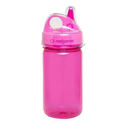 Nalgene Unisex– Babys Grip-n-Gulp Trinkflasche, pink, 0,35 L