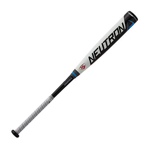 Louisville Slugger(ルイスビルスラッガー) 野球 軟式 用 バット NEUTRON(ニュートロン) 一般ユーザー用 内管・外管の厚みを調整し 新軟式ボール対応/セミトップバランス ホワイト/ブラック WTLJRB19N8474