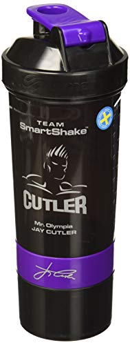 smartshake Signature Bottle, 27 oz Shaker Cup, Jay Cutler Edition